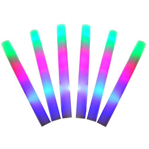 beetest-6-stuck-led-bunte-leuchtstabe-cheer-sponge-glowsticks