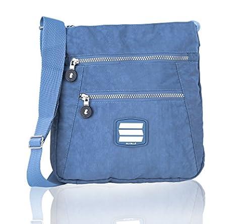 Suvelle Go-Anywhere Travel Crossbody Bag, Handbag, Purse, Shoulder Bag 20103