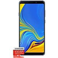Samsung Galaxy A9 (2018) Smartphone Bundle [6,3 Zoll, 128GB] + Evo Plus 128 GB Speicherkarte