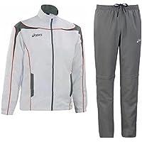 Asics Bianco T229z5 Pantaloni Sportiva World Giacca Grigio Junior Tuta rwWxYZq7Pr