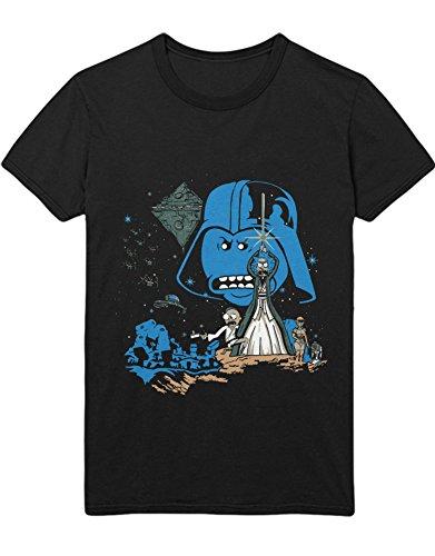 T-Shirt Rick & Morty Star Wars Mashup