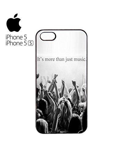 It's More Than Just Music Mobile Cell Phone Case Cover iPhone 5c Black Blanc