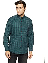 LP Louis Philippe Men's Geometric Print Slim Fit Casual Shirt