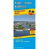 Köln - Bonn - Koblenz: Radwanderkarte mit Ausflugszielen, Einkehr- & Freizeittipps, wetterfest, reissfest, abwischbar, GPS-genau. 1:100000