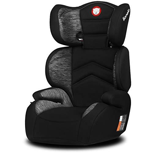 Lionelo Lars Plus Kindersitz, Autositz Sitzerhöhung Gruppe 2 3 (15-36 kg), ImpactGuard Konstruktion, ECE R44/04