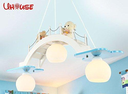 Es gibt gute Kinderraum Kronleuchter dekorative LED-Augenlampe Schlafzimmerlampe kreative Jungen und M?dchen Raum Tsuruhashi - 4