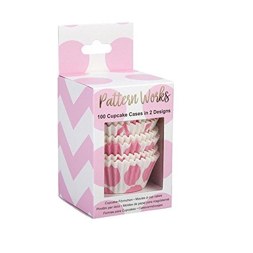 Neviti Pattern Works Cupcake-Förmchen, Pink