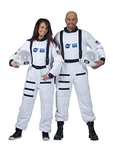 Kostüm Astronaut Weiß Männer's - ESPA / FunnyFashion Weißes Astronaut Kostüm für Erwachsene