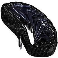 Multifunktionale Türrückwand-Hängeaufbewahrung für Handtaschen, Baseballkappen, Organizer, Türaufbewahrung, Türgarderobe Free Size Schwarz