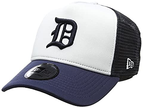 New Era Men's Classic Foam Trucker Detroit Tigers Baseball Cap, Blue (Navy), One Size