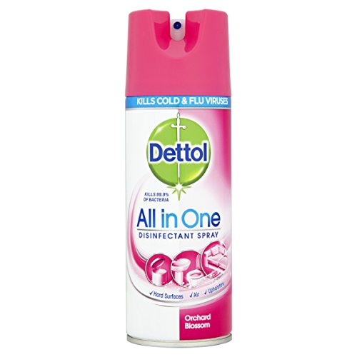 Price comparison product image Dettol All-in-One Disinfectant Spray Orchard Blossom,  400 ml,  Pack of 3