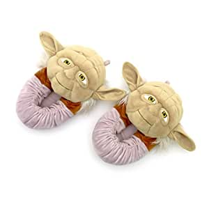 Disney, personnage de Star Wars / Star Wars Yoda chaussons pour adultes - Taille, UE 44-45 UK 10-11 ---