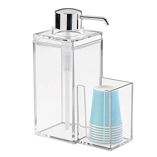 interdesign-luci-dispensador-enjuague-bucal-con-soporte-para-vasos-de-plastico-accesorio-con-capacid