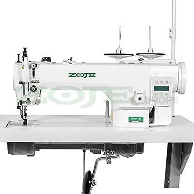Top de Oferta: La Industria Máquina de coser zoje–Piel & acolchado–Completo (con mesa y estructura) ¡NUEVO.