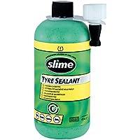 Slime 10125 Sellante de Reparación de Pinchazos de Neumático, Recarga de Kit de Reparación Inteligente, Apto para Coches, No Tóxico, Ecológico, 473ml