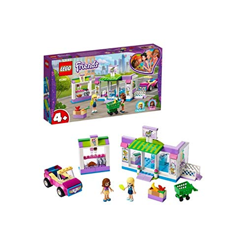 LEGO 41362 Friends Heartlake City Supermarket Grocery Store Set, Toy for 4 Year Old Girl and Boy with Buildable Toy Car Best Price and Cheapest