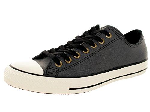 Converse Ctas Season Ox, Baskets Basses Femme Black/Black/Egret