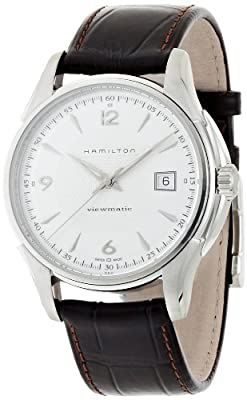 Hamilton Men's Analogue Automatic Watch with Leather Strap H32515555