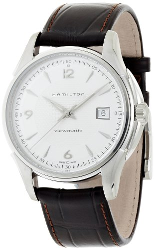 HAMILTON MEN'S JAZZMASTER VIEWMATIC 40MM STEEL CASE AUTOMATIC WATCH H32515555