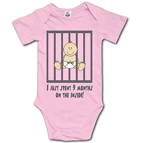 Baby Kostüm Easy Cute - flys Nur 9 Monate auf der Innenseite verbracht Baby Body Cute Onesies Komfortable Strampler Kostüm, 18M