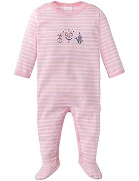 Schiesser Baby-Mädchen Zweiteiliger Schlafanzug Zirkus Zampano Anzug mit Fuß