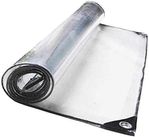 FCXBQ Transparente Poncho Sun Room Plant Shed Transparente Plane Zelt Tuch Klimaanlage Vorhang (Größe: 1,5 mx 5 m)