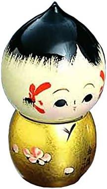 Fatto a mano – Kokeshi giapponese Kokeshi Kokeshi Kokeshi figure Serie  T15 – 05 donguri (oro) | Essere Nuovo Nel Design  | Qualità e quantità garantite  | Eccezionale  634983