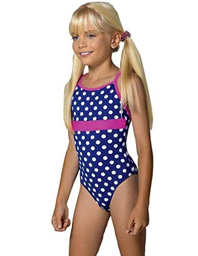 Lorin Mädchen Badeanzug Modell: 59 (Muster-v1, (Girl Ideen Kostüme Sexy)