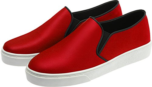 SNRD-Up 131–7 Casual mixte longue antidérapante Ons Baskets chaussures Rouge - 131-Red