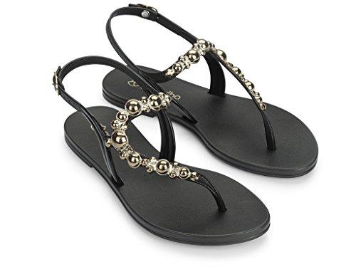 Damensandalen Grendha UniQue II Sandal 82117 | Kollektion 2017 schwarz (90058)