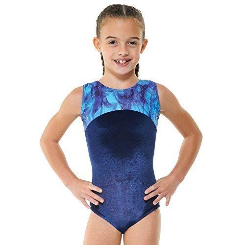 Tappers & Pointers Girls Gymnastics Sleeveless Leotard - GYM22 (9-10 YEARS)