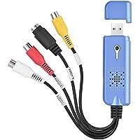 vbestlife captura de vídeo, externo USB 2.0Vídeo Audio Adaptador de tarjeta de captura de DVD para el procesamiento y postprocesamiento