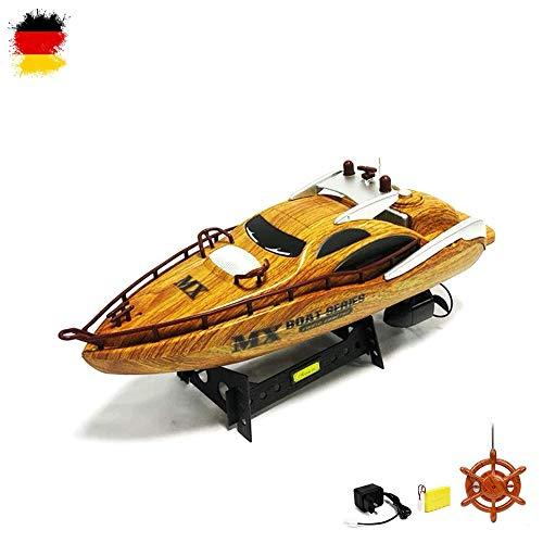 RC R/C ferngesteuertes Luxe Yacht Bateau speed Bateau hors-bord Yacht. Kit complet avec télécommande + Batterie + Chargeur + Piles.
