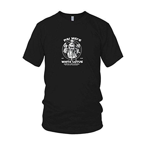 (Pai Mei's School - Herren T-Shirt, Größe: XL, Farbe: schwarz)