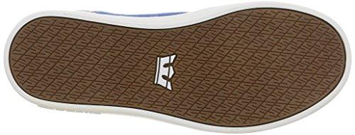 Supra Westway, Unisex-Erwachsene Sneakers Blau (royal/white)