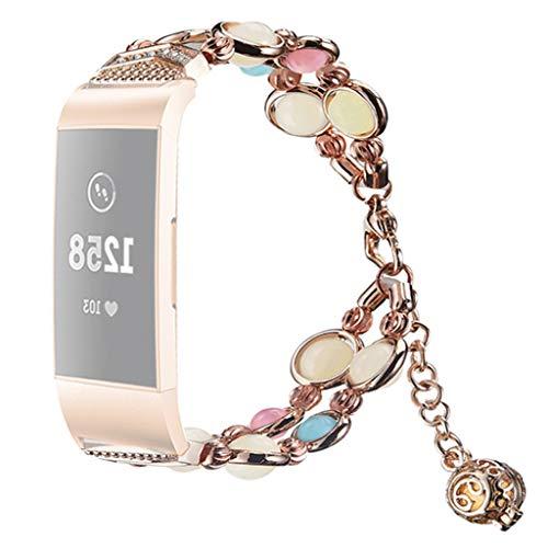 Happy Event Strap Kompatibel für Fitbit Charge 3 Uhr, Soft Flash Night Luminous Band Armband Gürtel Verstellbarer Ersatz Zubehör Straps Fitness-Armband - Nike Neueste Schuhe Damen