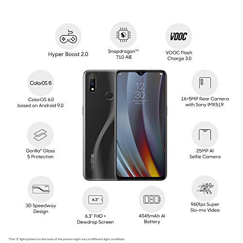 Realme 3 Pro (Carbon Grey, 6GB RAM, 128GB Storage) Image 3