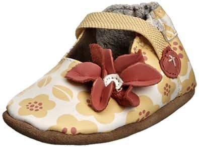 Robeez Baby-Girl Sunny Flowers Booties 364791-10 Yellow 18-24 Months, 23 EU