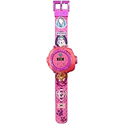 Childrens Paw Patrol Skye Pink & Purple Multi Projector Watch