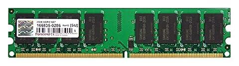 Transcend TS667D 2-2048 2GB RAM 240-pin DDR2 667 DIMM CL-Par 5