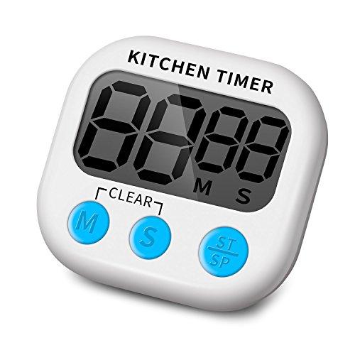 SELECTO Backen–Magnetisch Digital Küche Timer mit lautem Alarm und großes LCD-Display