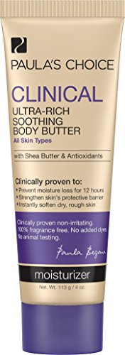 Paula's Choice Clinical Ultra-Rich Soothing Body Butter with Shea Butter and Antioxidants for Dry and Extra Sensitive Skin - 4 oz by Paula's Choice -