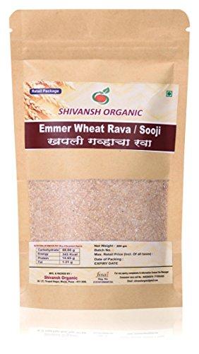 Emmer Wheat Rava/Khapali Wheat Rava (Sooji) 400g