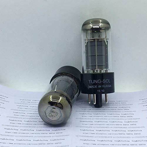 AiCheaX 2PCS / LOT 6V6GT Tubi per vuoto TUNG-SOL Tungsol HIFI DIY