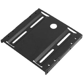 """sourcingmap® Support de disque dur 2,5"""" à 3,5"""" ATX SSD en métal Noir"""