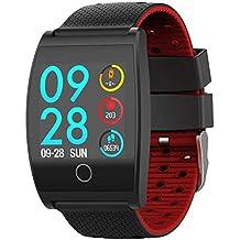 redshooeYY QS05 Sensor de frecuencia cardíaca Inteligente a Prueba de Agua Llamada recordatorio Reloj Despertador función