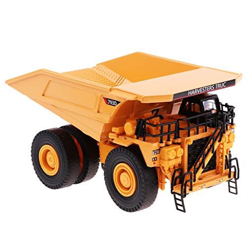 B Blesiya 1:50 LKW Baufahrzeuge Lastwagen Spielzeugauto Kinder Spielzeug Geschenk, 3 Tpyen - Kipper