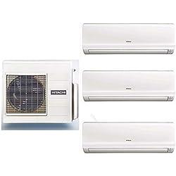 Trial split inverter HITACHI Multizone Premium R410A + 3 x Performance 7000 BTU climatizzatori a parete - RAM-53NP2B + RAK-18RPC