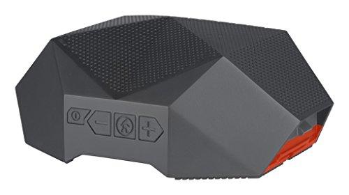 Outdoor Tech. Unisex Schildkröte Shell 3.0Rugged Wireless Boombox, grau orange