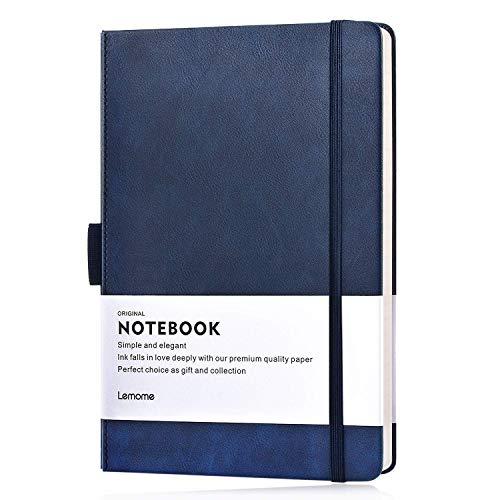 ftschlaufe/Notebook - Thick Classic A5 Notizbuch mit Breitem Lineal und Taschen- und Seitenteiler, Groß, 180 Seiten, 8,4 x 5,7 Zoll ()